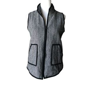 Katydid herringbone vest
